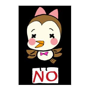 Kawaii Bird Japan messages sticker-4