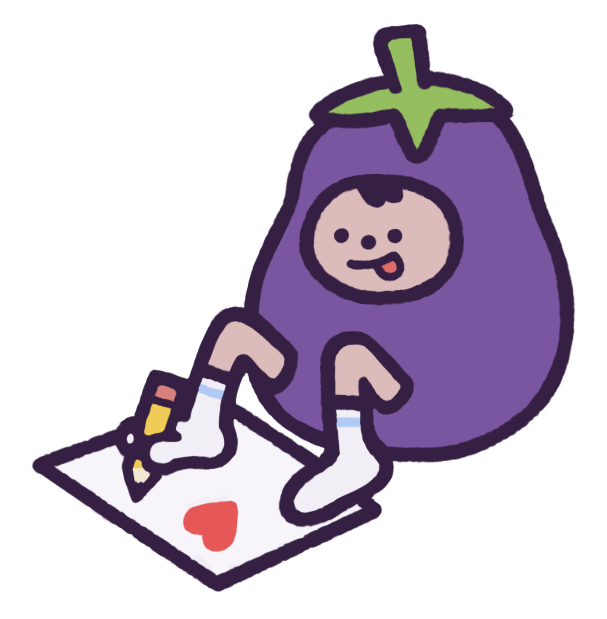 Eggby the Eggplant messages sticker-3