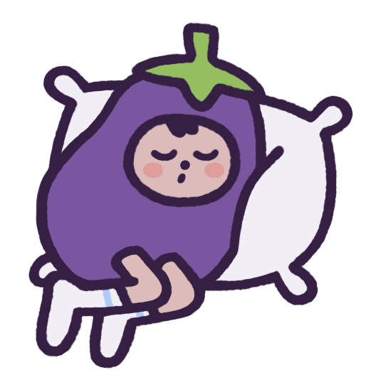 Eggby the Eggplant messages sticker-2
