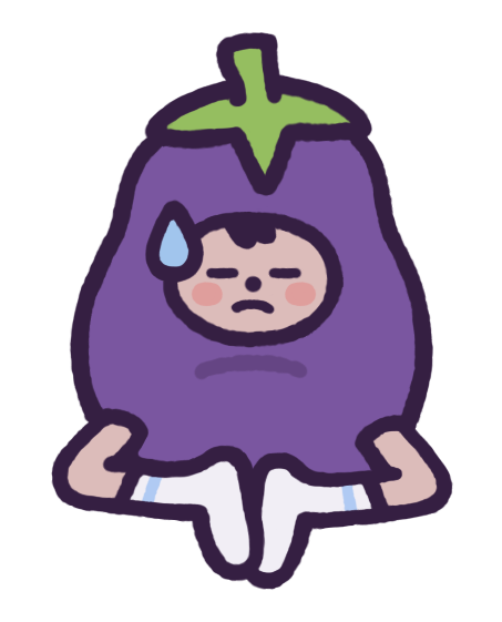 Eggby the Eggplant messages sticker-6