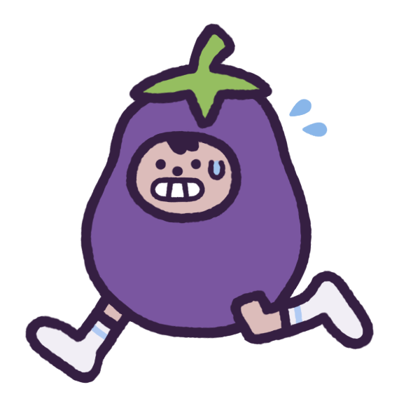 Eggby the Eggplant messages sticker-4