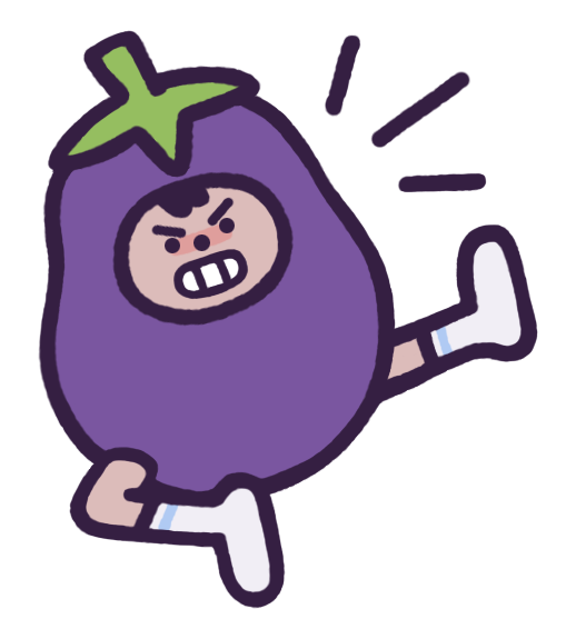 Eggby the Eggplant messages sticker-10
