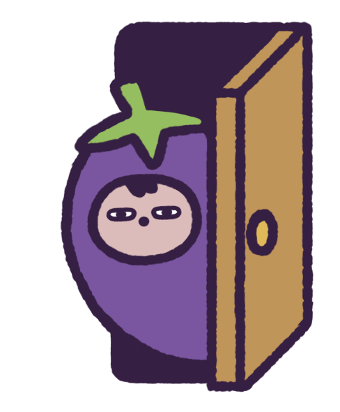 Eggby the Eggplant messages sticker-9
