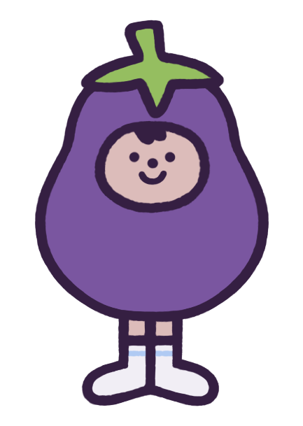 Eggby the Eggplant messages sticker-0