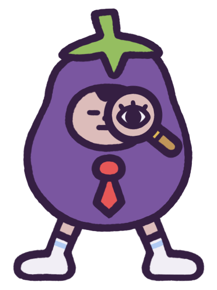 Eggby the Eggplant messages sticker-8