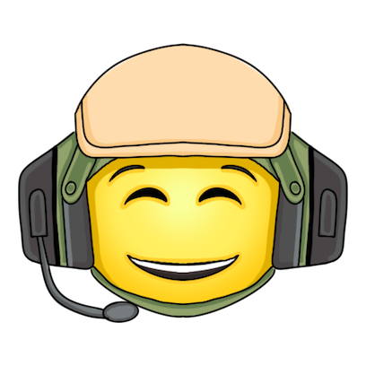 Army and Military Emojis and Stickers messages sticker-9