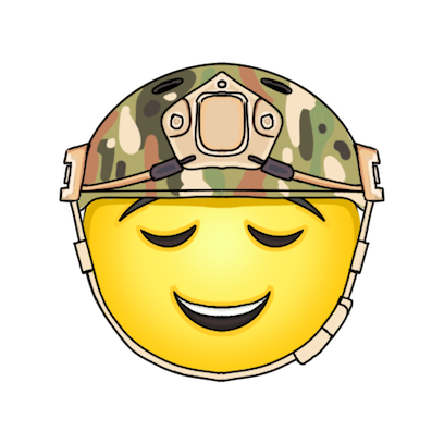 Army and Military Emojis and Stickers messages sticker-10