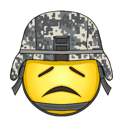 Army and Military Emojis and Stickers messages sticker-1
