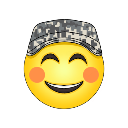 Army and Military Emojis and Stickers messages sticker-0