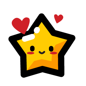 Animated Happy Star Stickers for iMessage messages sticker-2