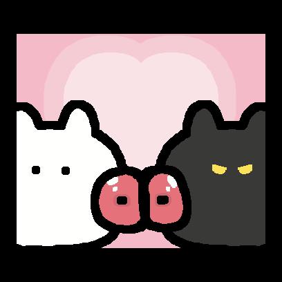 NekoGetChu-Cat Sticker- messages sticker-2