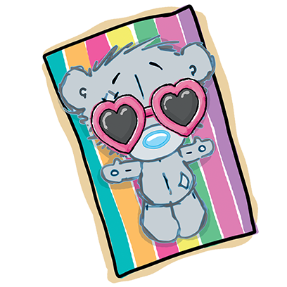 Me To You Dinky Bear messages sticker-7