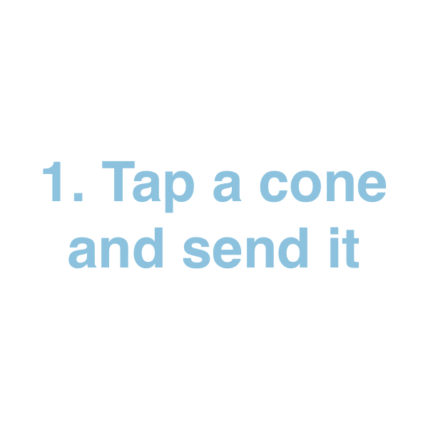 Ice Cream Cone Stickers! messages sticker-0