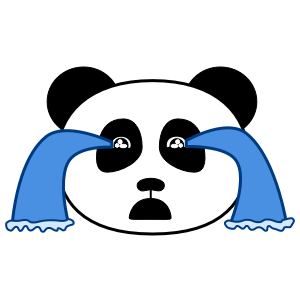 Apathetic Panda messages sticker-7