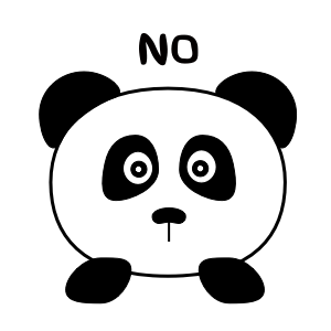 Apathetic Panda messages sticker-0