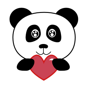 Apathetic Panda messages sticker-10