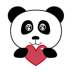 Apathetic Panda messages sticker-2