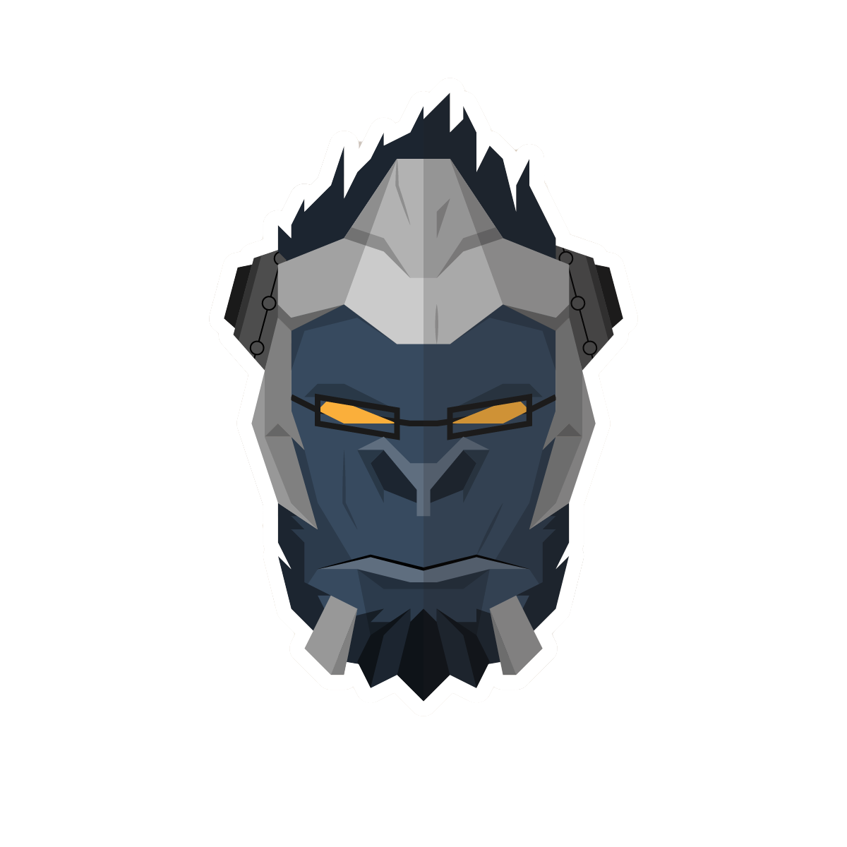 The Heroes Of Overwatch Sticker Pack messages sticker-4