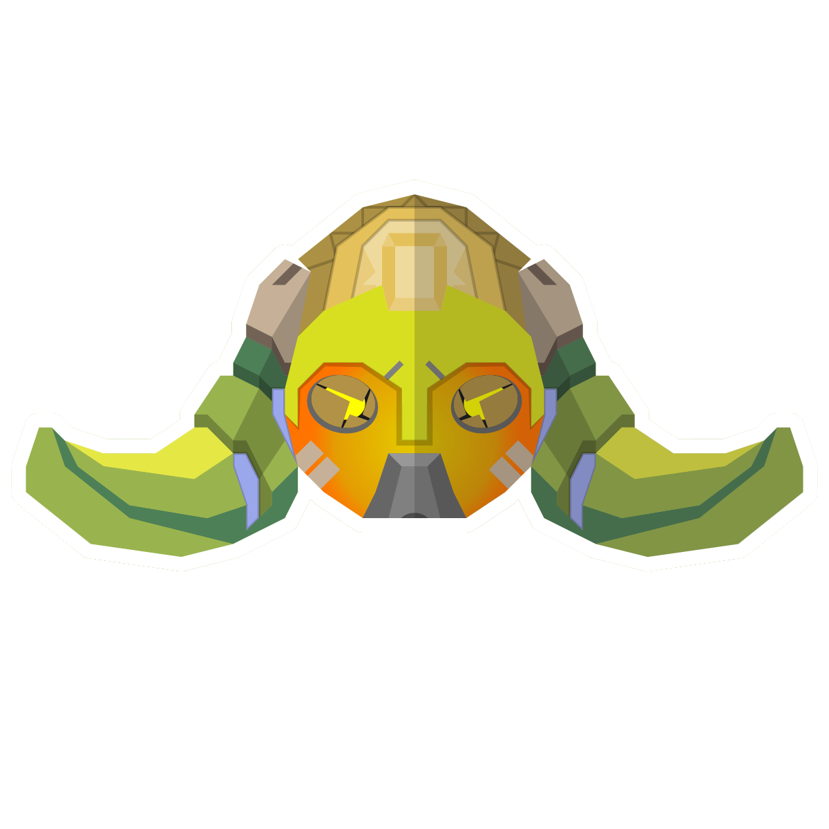 The Heroes Of Overwatch Sticker Pack messages sticker-11
