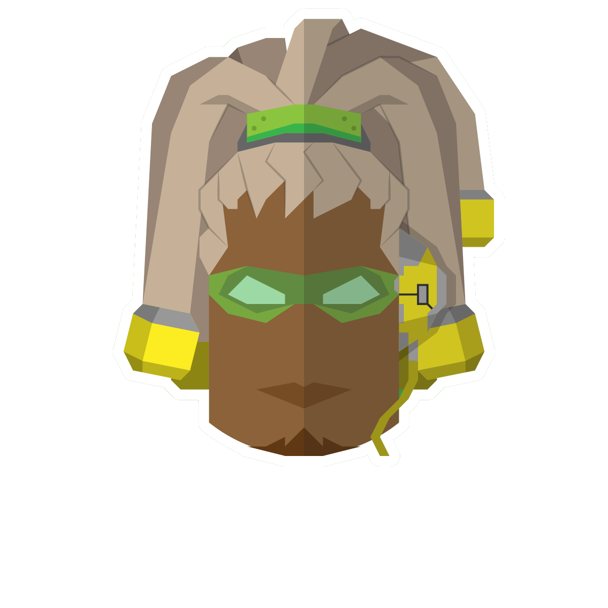 Heroes of the Future Stickers messages sticker-1
