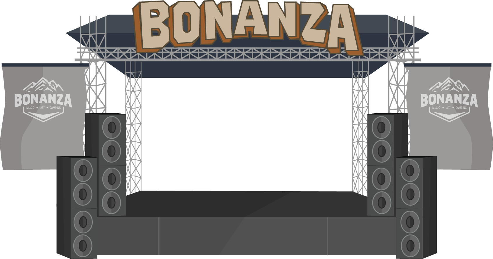The Official Bonanza Campout Sticker App messages sticker-9