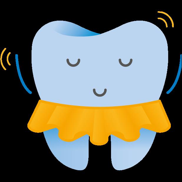 Dentsply Sirona Endodontics – A tooth's life (L) messages sticker-1