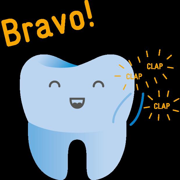 Dentsply Sirona Endodontics – A tooth's life (L) messages sticker-2