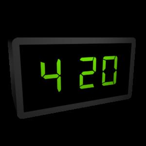 CyberChat 420 messages sticker-3