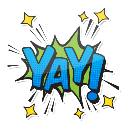 Comic Words messages sticker-8