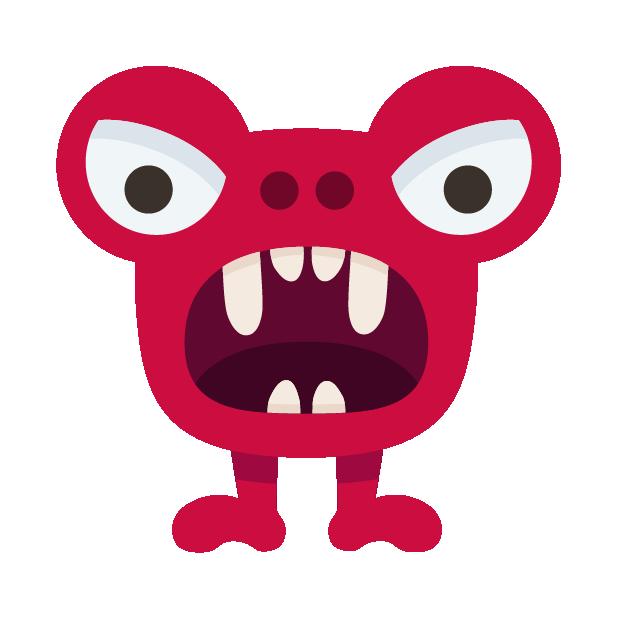Happy Monster stickers messages sticker-9