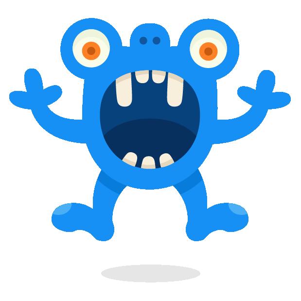 Happy Monster stickers messages sticker-7
