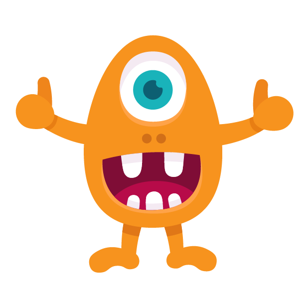 Happy Monster stickers messages sticker-0