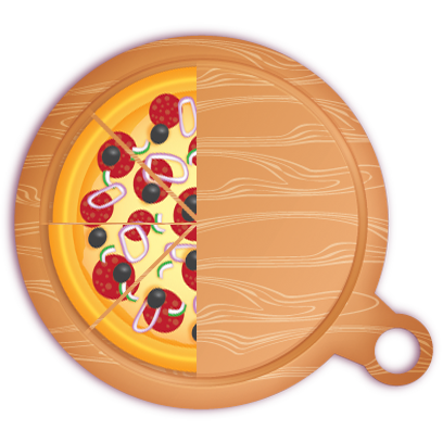 Pizza Pie Charts and Soda Bar Graphs messages sticker-8