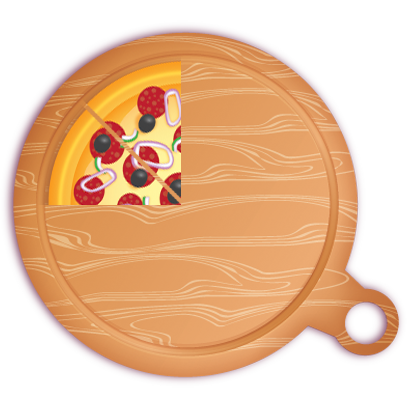 Pizza Pie Charts and Soda Bar Graphs messages sticker-10