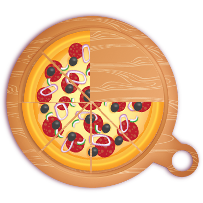 Pizza Pie Charts and Soda Bar Graphs messages sticker-6