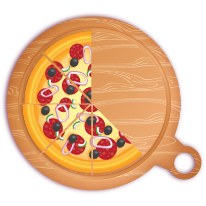 Pizza Pie Charts and Soda Bar Graphs messages sticker-7