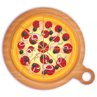 Pizza Pie Charts and Soda Bar Graphs messages sticker-4