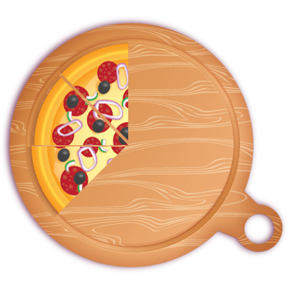 Pizza Pie Charts and Soda Bar Graphs messages sticker-9