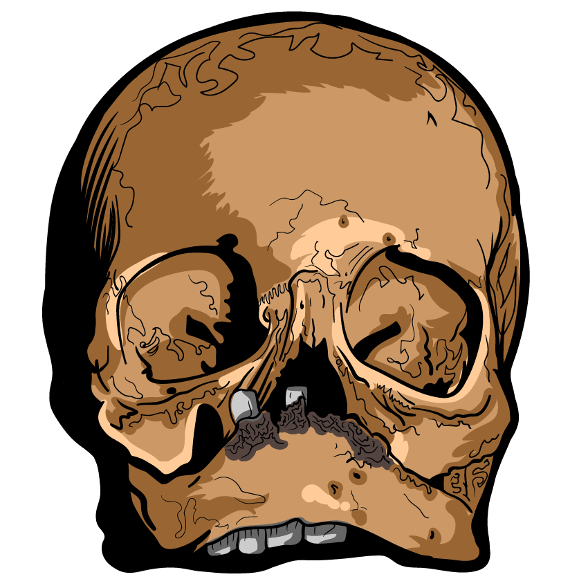 Skull Art Sticker Pack messages sticker-5