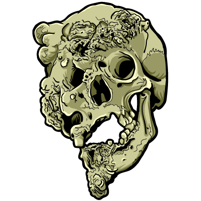 Skull Art Sticker Pack messages sticker-7