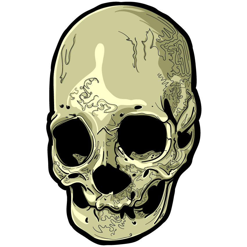 Skull Art Sticker Pack messages sticker-9