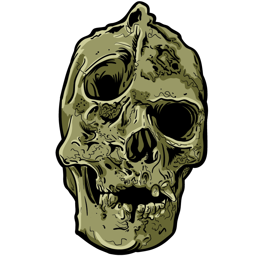 Skull Art Sticker Pack messages sticker-3