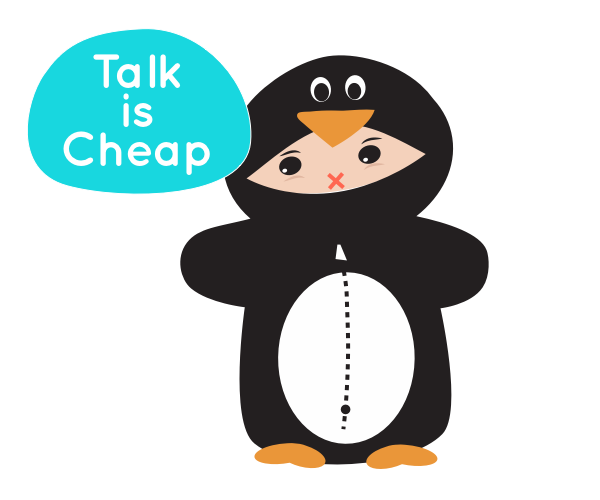 RoxyPenguin - Learn Words messages sticker-4
