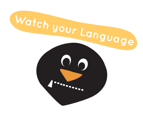 RoxyPenguin - Learn Words messages sticker-1