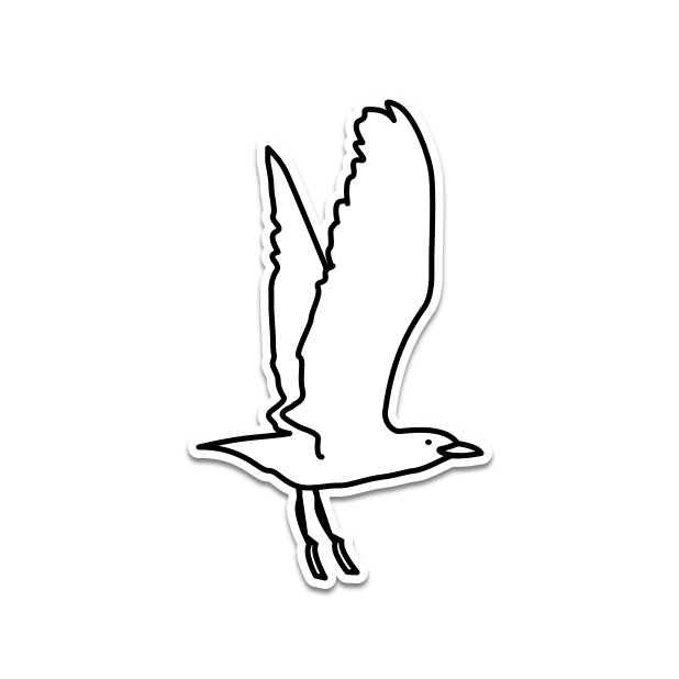 Hanging Bird messages sticker-9