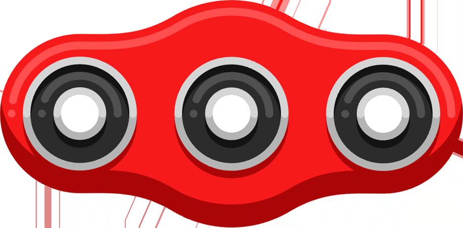 Fidget Spinner App & Stickers messages sticker-8