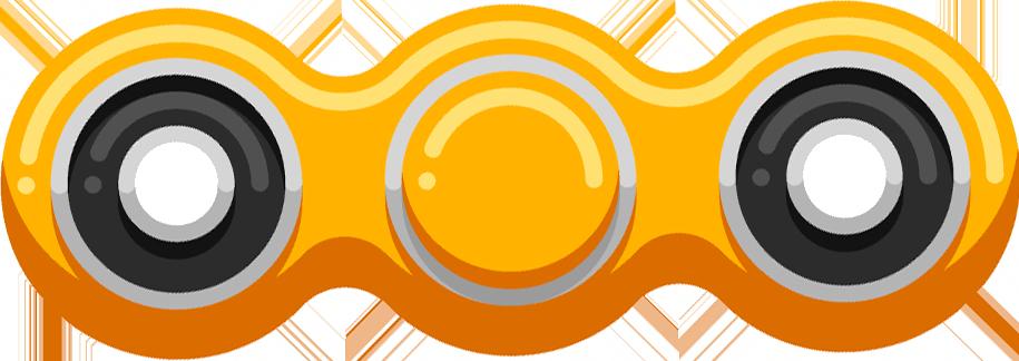 Fidget Spinner App & Stickers messages sticker-9