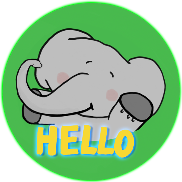 Newggy - The Sweetest Elephant messages sticker-1
