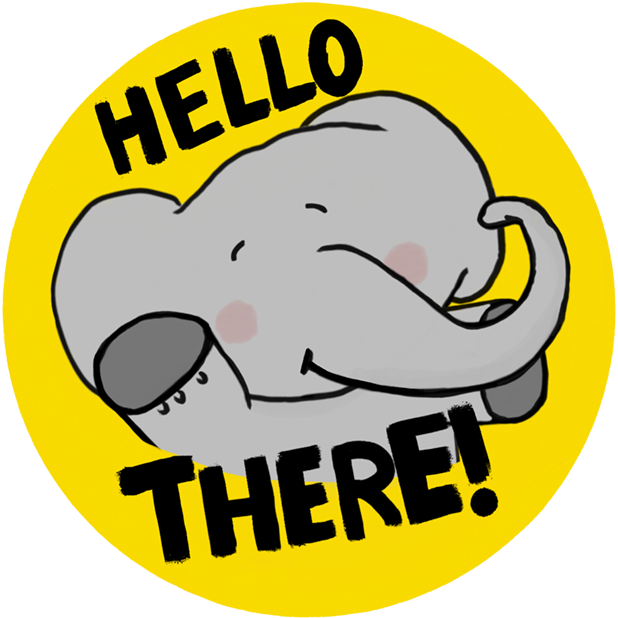 Newggy - The Sweetest Elephant messages sticker-3