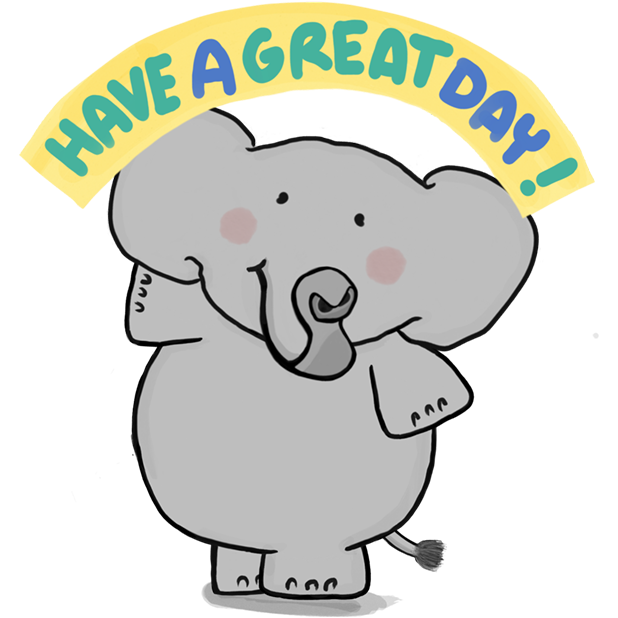 Newggy - The Sweetest Elephant messages sticker-6